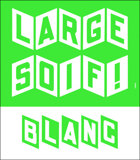 Visual of the vintage Large Soif blanc