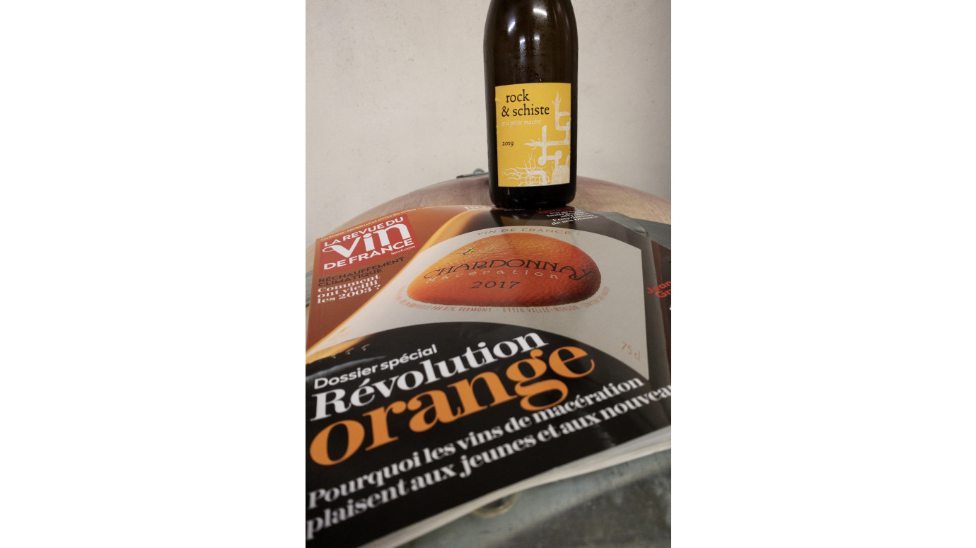 Special feature Revue des vins de France: Orange Revolution.
