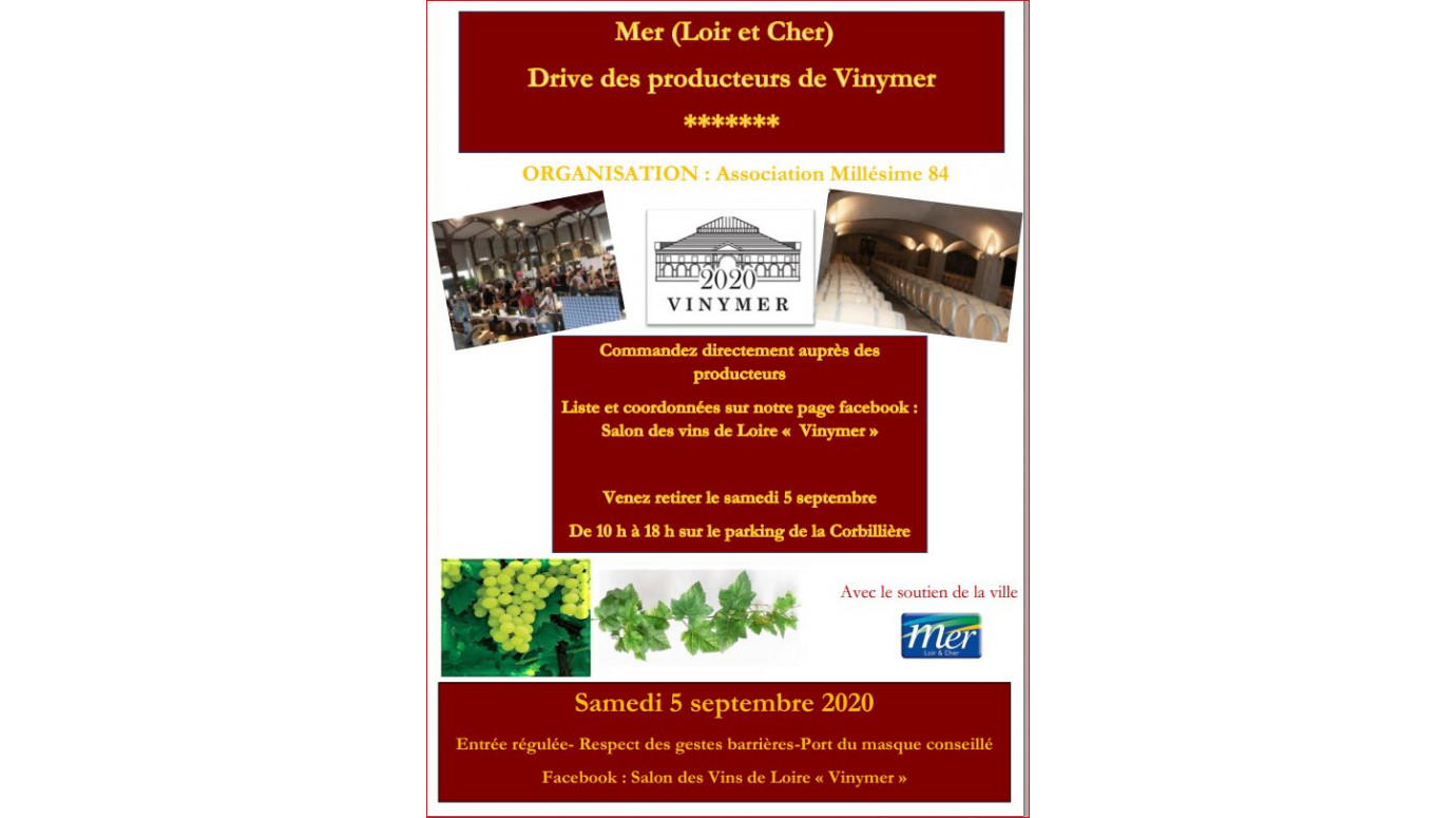 Terra Vita Vinum present at VINYMER: the winegrowers' drive of September 5th