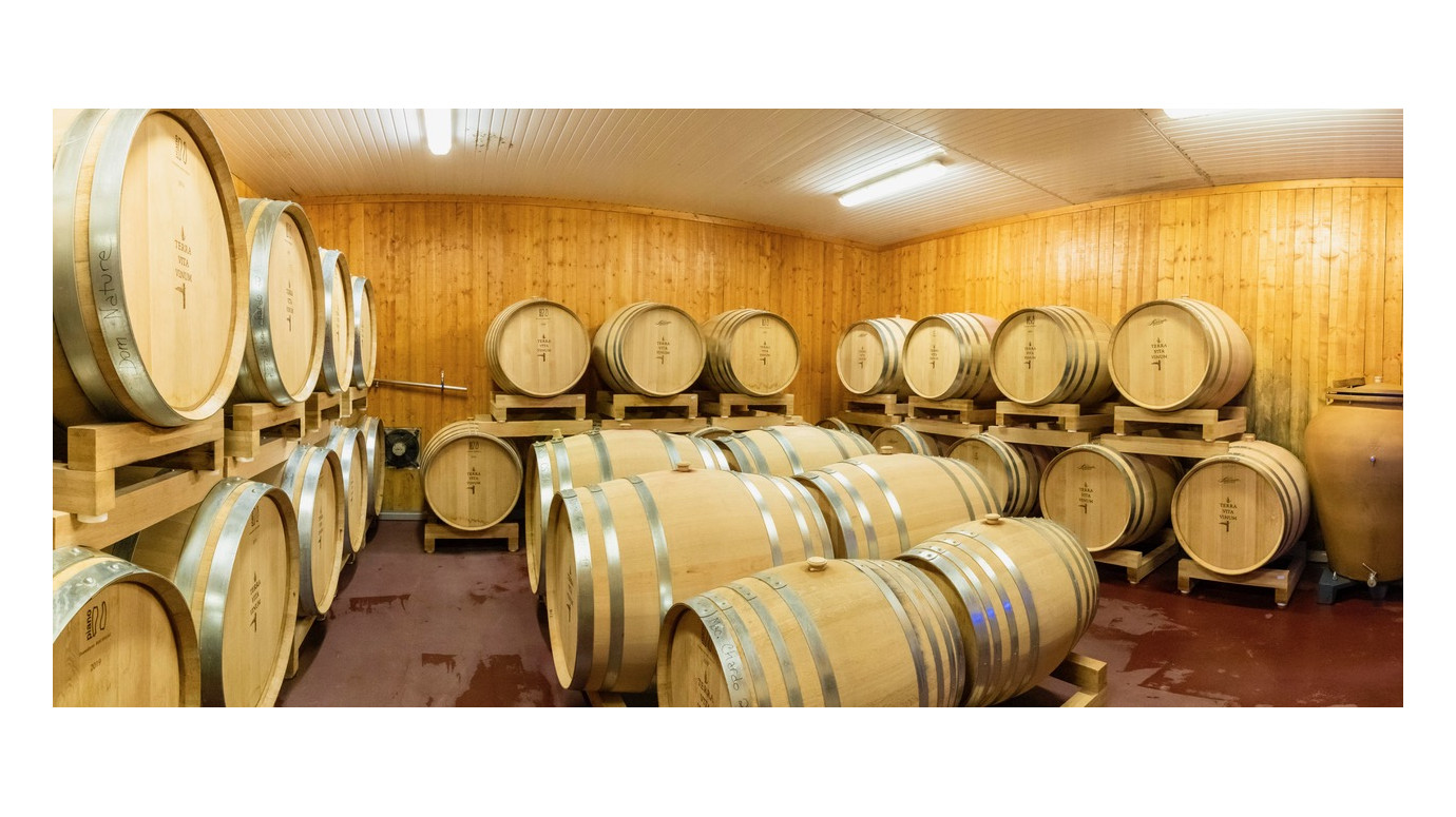 The winery goes into hibernation...